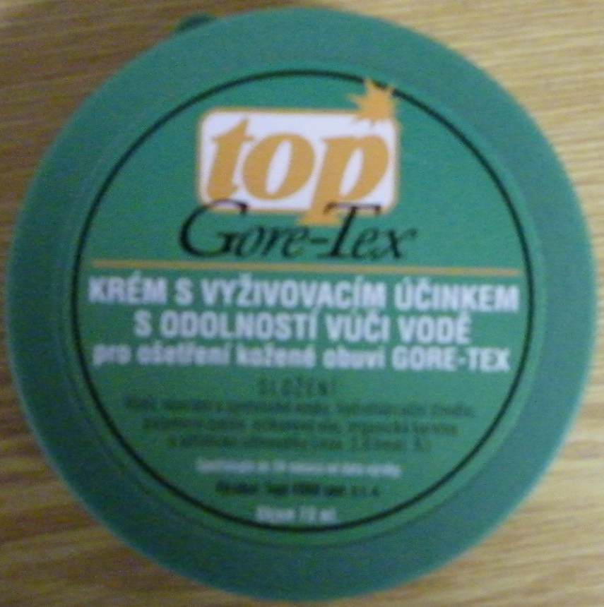 Krém na obuv TOP GORE, 70 ml